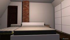 Raumgestaltung Schlafzimmer mit einbauschrank in der Kategorie Schlafzimmer