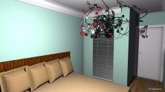 Raumgestaltung Schlafzimmer mit SR in der Kategorie Schlafzimmer