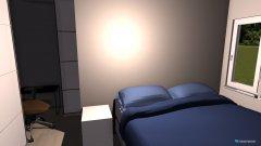Raumgestaltung Schlafzimmer mit wandschrank in der Kategorie Schlafzimmer