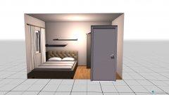 Raumgestaltung Schlafzimmer Nancy in der Kategorie Schlafzimmer