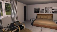 Raumgestaltung Schlafzimmer ohne Bad in der Kategorie Schlafzimmer