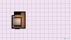 Raumgestaltung Schlafzimmer ohne Kommode in der Kategorie Schlafzimmer