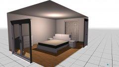 Raumgestaltung schlafzimmer parkinsel in der Kategorie Schlafzimmer