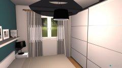 Raumgestaltung Schlafzimmer petrol in der Kategorie Schlafzimmer