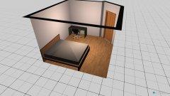 Raumgestaltung Schlafzimmer Philipp in der Kategorie Schlafzimmer