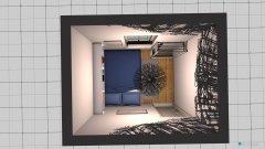Raumgestaltung Schlafzimmer schräg in der Kategorie Schlafzimmer