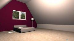 Raumgestaltung Schlafzimmer Simone in der Kategorie Schlafzimmer