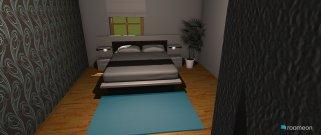 Raumgestaltung Schlafzimmer Sindy2 in der Kategorie Schlafzimmer
