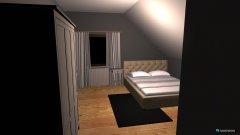 Raumgestaltung Schlafzimmer Sonja in der Kategorie Schlafzimmer
