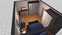 Raumgestaltung Schlafzimmer Spandauer Weg Zwei Kleiderschränke in der Kategorie Schlafzimmer