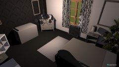 Raumgestaltung Schlafzimmer SW in der Kategorie Schlafzimmer