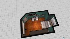 Raumgestaltung Schlafzimmer typ petrol in der Kategorie Schlafzimmer