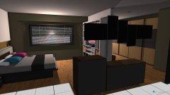Raumgestaltung Schlafzimmer + Umkleidebereich in der Kategorie Schlafzimmer