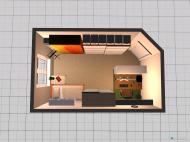 Raumgestaltung Schlafzimmer und Büro in der Kategorie Schlafzimmer