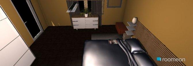 Raumgestaltung schlafzimmer unten neben den Wohnzimmer in der Kategorie Schlafzimmer