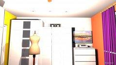 Raumgestaltung Schlafzimmer unten in der Kategorie Schlafzimmer