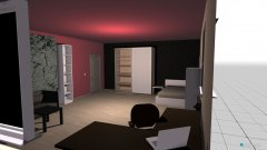 Raumgestaltung Schlafzimmer Untergeschoss in der Kategorie Schlafzimmer