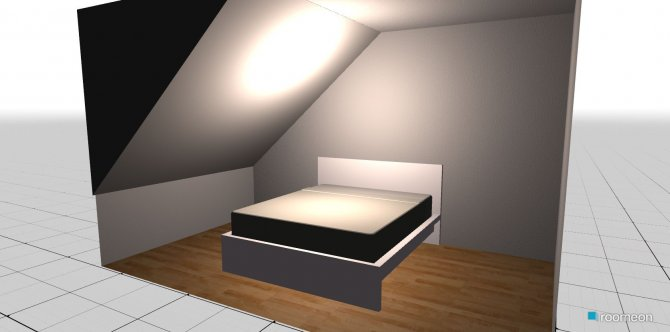 Raumgestaltung Schlafzimmer v1 in der Kategorie Schlafzimmer