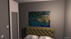 Raumgestaltung Schlafzimmer Variante 1 in der Kategorie Schlafzimmer