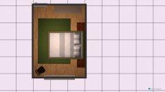 Raumgestaltung Schlafzimmer vorne in der Kategorie Schlafzimmer