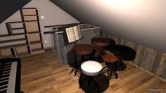 Raumgestaltung Schlafzimmer Wohnung Emil in der Kategorie Schlafzimmer