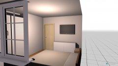 Raumgestaltung Schlafzimmer Wohnung in der Kategorie Schlafzimmer