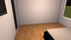 Raumgestaltung schlafzimmer_arbeitszimmer in der Kategorie Schlafzimmer