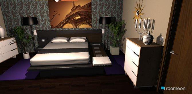 Raumgestaltung schlafzimmertraum in der Kategorie Schlafzimmer