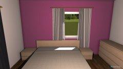 Raumgestaltung Schlafzimmier in der Kategorie Schlafzimmer