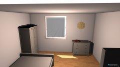 Raumgestaltung SChlafzmmer in der Kategorie Schlafzimmer