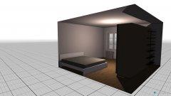 Raumgestaltung Schlagzimmer in der Kategorie Schlafzimmer