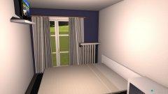 Raumgestaltung Schlazimmer in der Kategorie Schlafzimmer