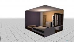 Raumgestaltung schlzm-mw in der Kategorie Schlafzimmer