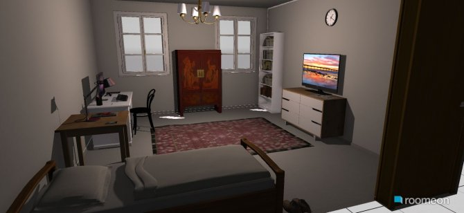 Raumgestaltung serafim room in der Kategorie Schlafzimmer