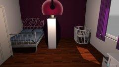 Raumgestaltung Shannon mit Haylie in der Kategorie Schlafzimmer