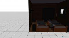 Raumgestaltung Shared Bedroom in der Kategorie Schlafzimmer