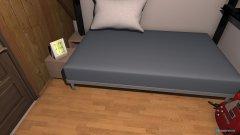 Raumgestaltung silvans zimmer in der Kategorie Schlafzimmer