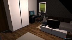 Raumgestaltung Skizze 1 in der Kategorie Schlafzimmer