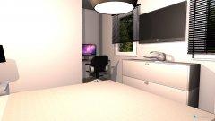 Raumgestaltung slaapkamer in der Kategorie Schlafzimmer