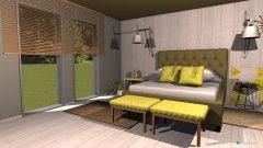 Raumgestaltung sleeping room in der Kategorie Schlafzimmer