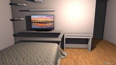 Raumgestaltung Sophias Zimmer in der Kategorie Schlafzimmer