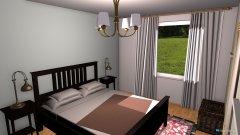 Raumgestaltung sovrum in der Kategorie Schlafzimmer