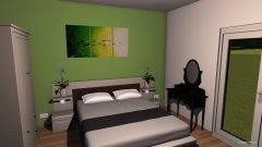 Raumgestaltung spálňa luxusný rodinný dom in der Kategorie Schlafzimmer