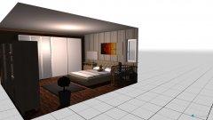 Raumgestaltung spálňa  in der Kategorie Schlafzimmer