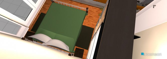 Raumgestaltung spalna 2 in der Kategorie Schlafzimmer