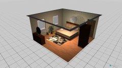 Raumgestaltung spalna in der Kategorie Schlafzimmer
