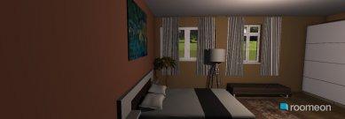 Raumgestaltung spalnia 2 in der Kategorie Schlafzimmer
