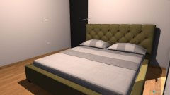 Raumgestaltung spalnica jug in der Kategorie Schlafzimmer