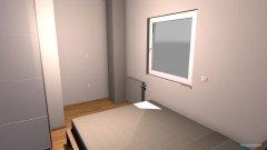 Raumgestaltung spalnica sever in der Kategorie Schlafzimmer