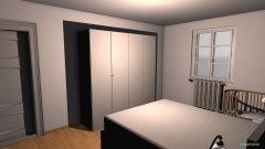 Raumgestaltung spalnica in der Kategorie Schlafzimmer